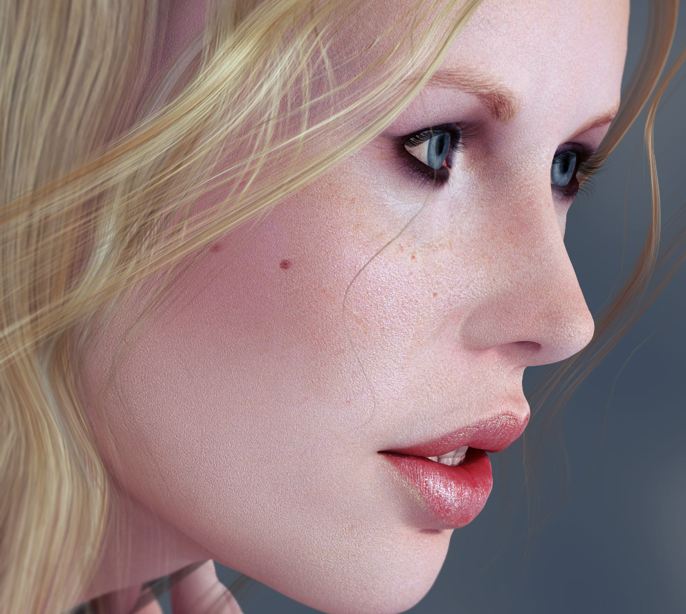3D Celebrity Look-Alikes For Poser And Daz Studio
