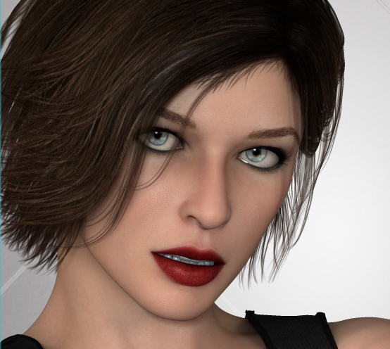 3D Celebrity Starlette | 3D Models and 3D Software by Daz 3D